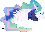 Celestia and Luna Sleeping (Asleep Version)