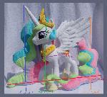 Princess Celestia size