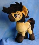 Flint :OC Pony Plush Commission: