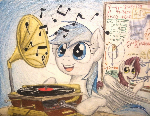 Music and Math (Commission for Snowy-Arc)