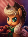 Applejack iPad Portrait