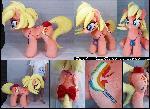 Ashleigh Ball OC pony life-size plushie