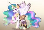 My Little Pony Madoka Magica #2 Mami Celestia