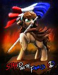 #StandWithParis MLP Charity print