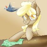 Custard Horse