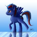 Sapphire Jasper (Commission)