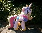Handmade MLP Princess Cadence Plushie