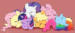 Sleeping Ponies