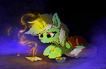 Lyra writes