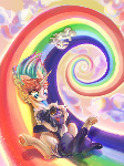 Rainbow Slide (1st commision)