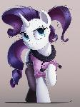 Never Be Royals - Rarity's Fresh Threads