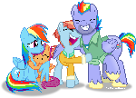 Dashie's family