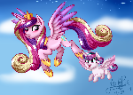 Princess Candence and Flurry Heart