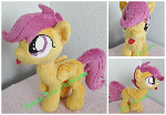 Silly Scootaloo Plush