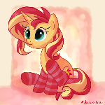 Sunset In Socks :3