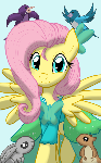 Fluttershy at the gala!