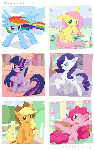Weekly art#78 Mane Six