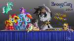 Epicrainbowcrafts' BronyCon Booth (Commission)