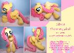 Lifesize 45 inch Fluttershy plush