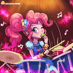 (Speed Paint) Pinkie Pie Rocks!
