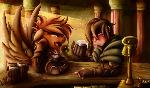Fanart - MLP. Drunken Companions