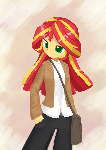 Weekly art#74 Sunset Shimmer