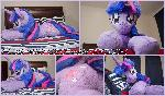 Life Size 53 inch laying down Twilight Sparkle