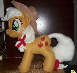 Smiling Applejack plush Pony Plush