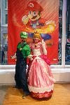 Princess Peach and Luigi Smash Bros. Cosplay