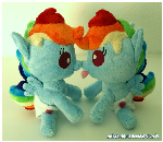 Baby Rainbow Dash ..double trouble