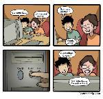 Enfance du codeur : le bouton magique