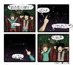 Comme une étoile filante