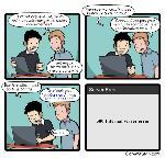 Quand le chef de projet corrige un bug