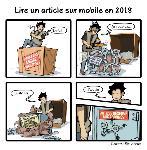 Lire un article sur mobile en 2018