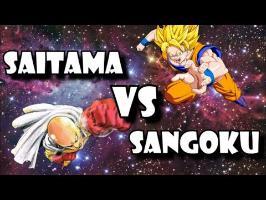 SAITAMA VS SANGOKU - QUI EST LE PLUS FORT ?