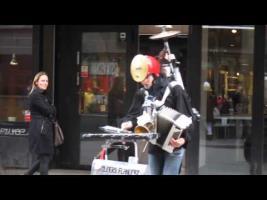 Swedish Street Musician
