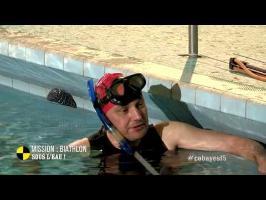 Mission : biathlon sous l'eau ! - On n'est pas que des cobayes!