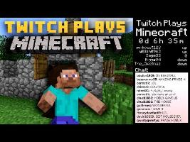 Twitch Plays Minecraft