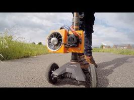 Jet Powered Micro Scooter