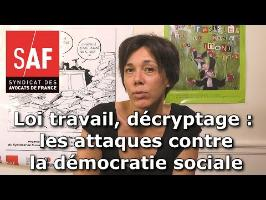Projet de loi travail, décryptage #9 : Les attaques contre la démocratie sociale