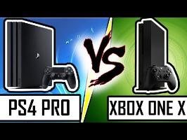 DUEL DE CONSOLES : PS4 PRO VS XBOX ONE X