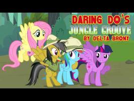 [DKC x MLP FiM] Daring Do's Jungle Groove