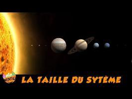L'immensité de l'espace : le système solaire au bout des doigts