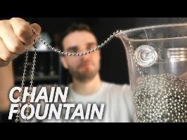 CETTE CHAîNE EST MAGIQUE ! (chain fountain)