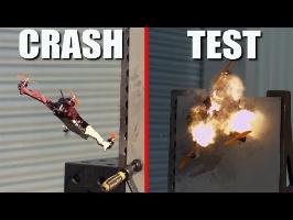 ON EXPLOSE UN DRONE RACER EN SLOW MOTION (crash test)