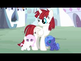 Baby Luna and Celestia MLP ANIMATION