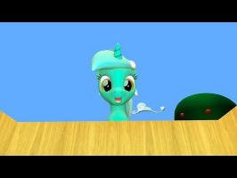 Cursed Pony Magic: Lyra Heartstrings