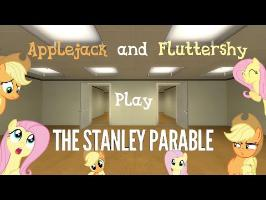 Applejack and Fluttershy Play The Stanley Parable