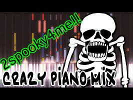 Crazy Piano! SPOOKY SCARY SKELETONS!