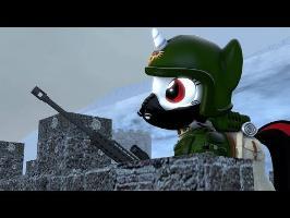 Standing Guard. [SFM Ponies]